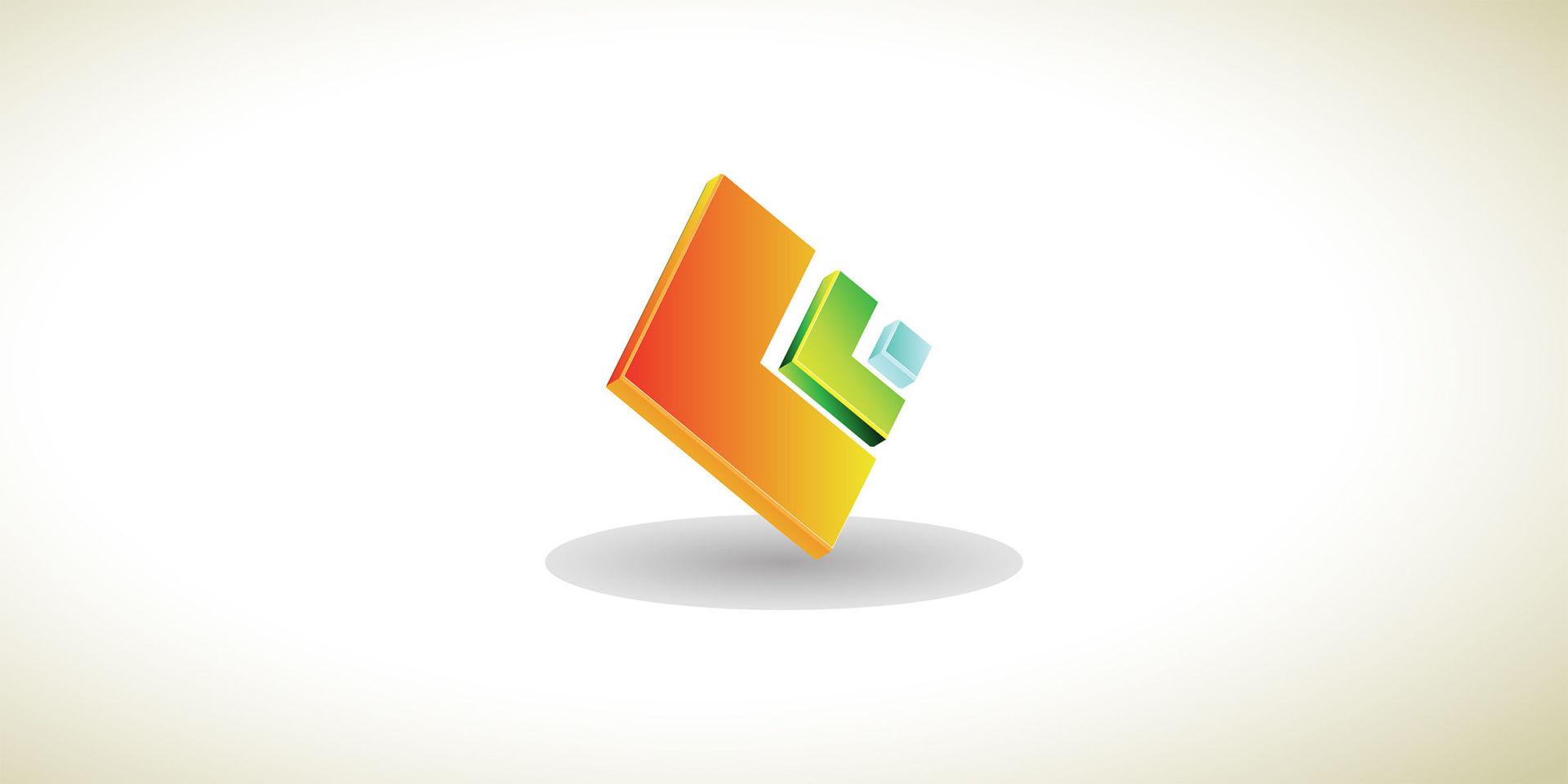 طراحی سه بعدی و سادهی لوگو